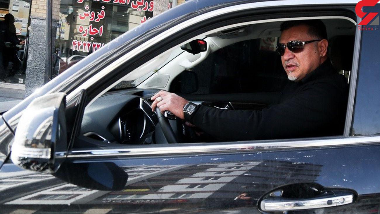 عجیب / علی دایی ثروتمند خودروی چینی سوار میشود؟ + عکس ها