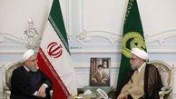روحانی در دیدار تولیت آستان قدس رضوی: دولت برای ارائه خدمت بهتر به زائران در کنار تولیت آستان قدس رضوی است