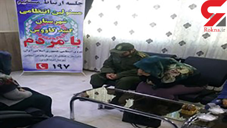 پس از ۲۰ سال فراق؛ سرباز وطن در آغوش مادر آرام گرفت+ عکس