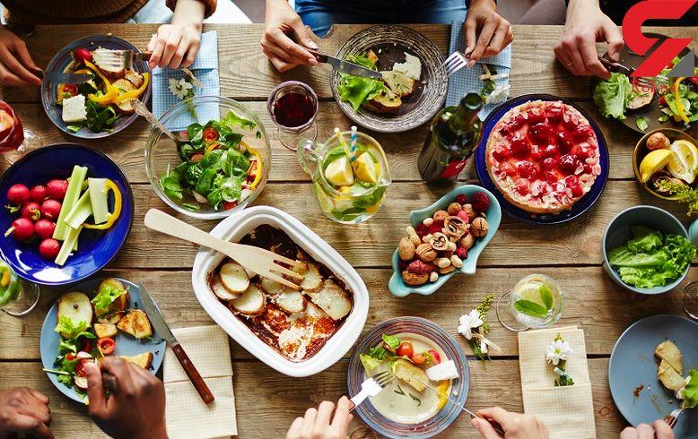 در هر وعده غذایی چقدر غذا بخوریم که چاق نشویم؟