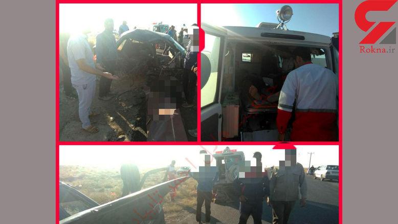 2 کشته و 4 مصدوم در اثر واژگونی پراید / در محور تایباد به باخزر رخ داد