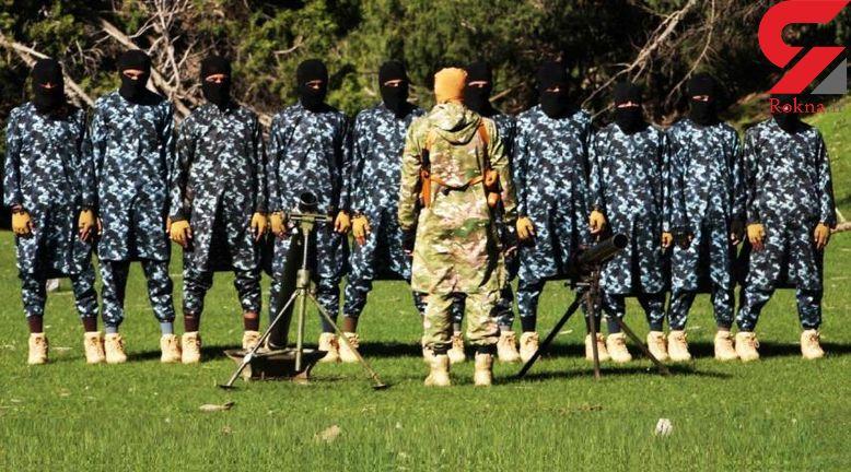 در مرکز آموزش نظامی داعشیهای افغانستان چه میگذرد؟ +تصاویر