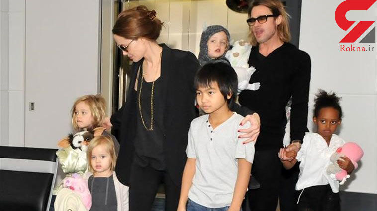 اختلاف آنجلینا جولی و برد پیت بر سر خرجی فرزندانشان