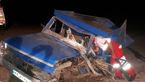تصادف زنجیره ای خودروها در جاده زاهدان / 4 تن کشته شدند + عکس