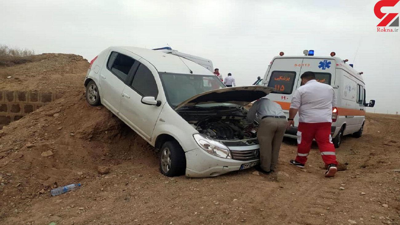 حادثه همزمان برای 6 سمنانی در این صحنه!