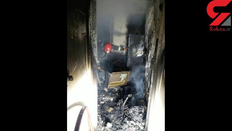 آتش سوزی خانه مسکونی در استان مرکزی