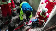 نجات کارگر کاشانی از حادثه در یک کارگاه رنگرزی
