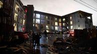 کشته شدن ۲۲ نفر در گردباد آمریکا