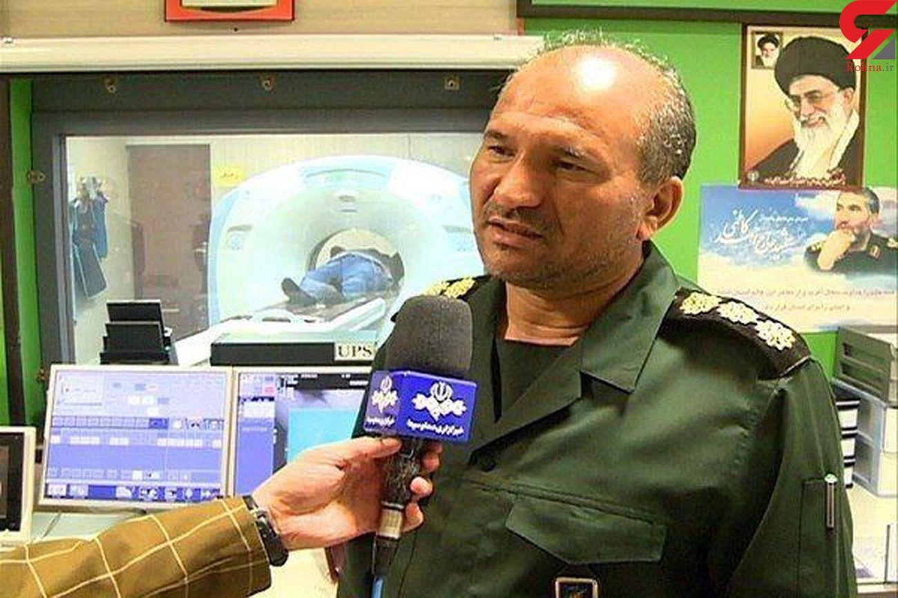 فوت فرمانده ارشد قرارگاه قدس سپاه در اثر کرونا