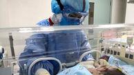 نوزاد ۸ ماهه مبتلا به کرونا با حال خوب ترخیص شد