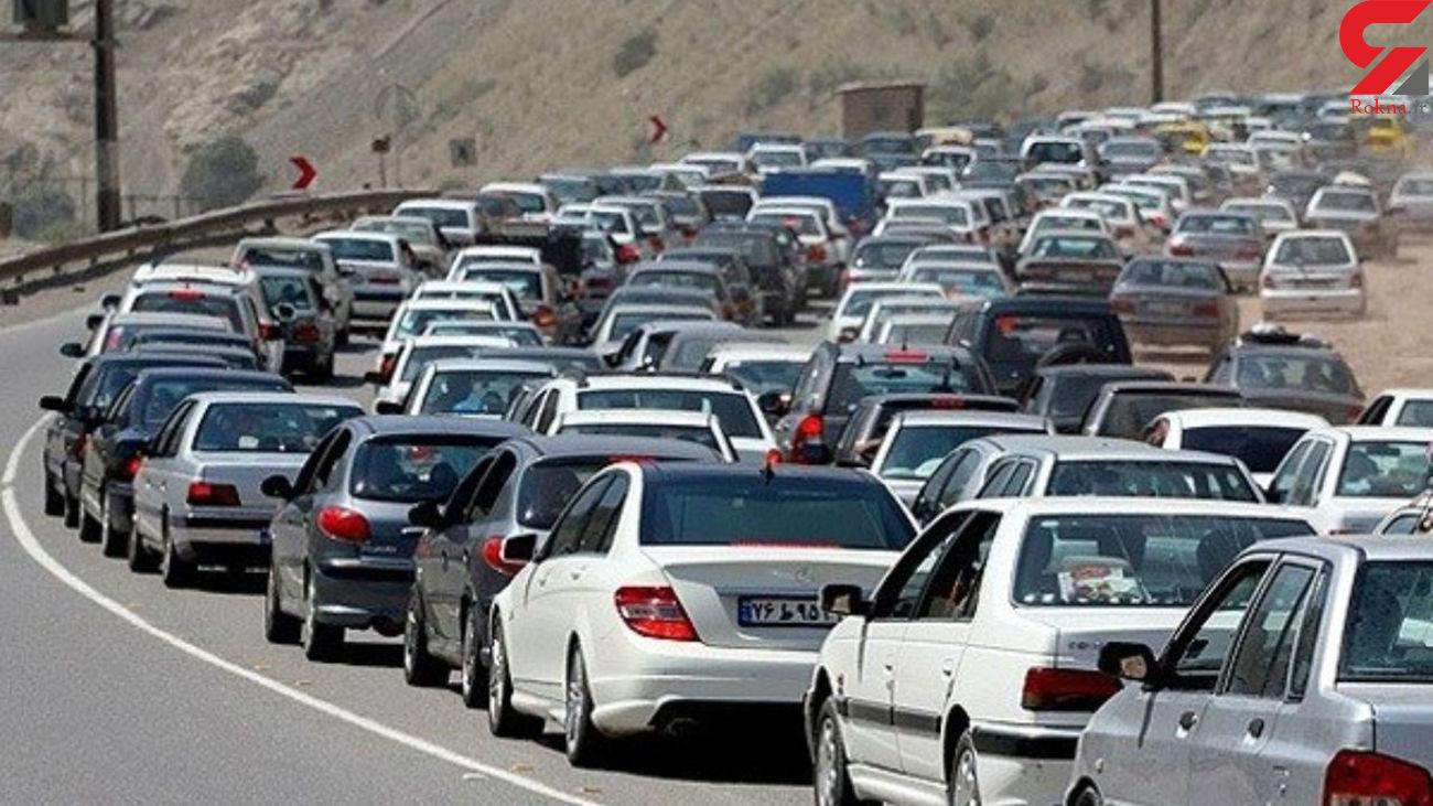 وضعیت ترافیکی و جوی راههای کشور در 11 آبان 99