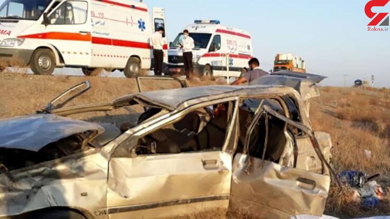 واژگونی خودرو در سبزوار با 2 کشته