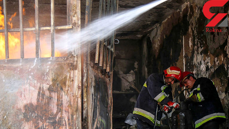 آتش سوزی واحد مسکونی پیرزن سمنانی را به کام مرگ کشاند