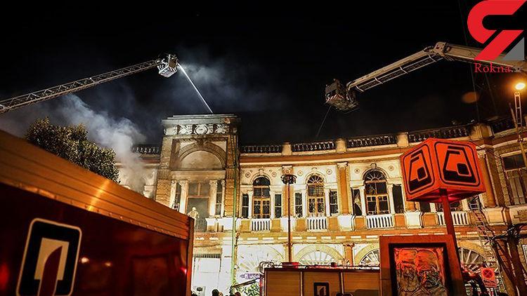 آغاز مرمت بافت تاریخی میدان حسنآباد تهران +عکس