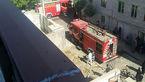 نجات پنج شهروند از میان دود و آتش در قزوین / مصدومیت دو آتش نشان + تصاویر