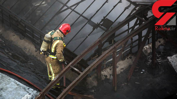 کارخانه قند همدان آتش گرفت