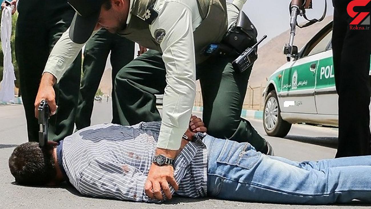 دستگیری سوداگر مرگ در استهبان