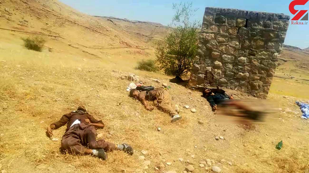 عکس وحشتناک از جنازه های 3 جوان اندیمشکی که تیرباران شدند + جزییات