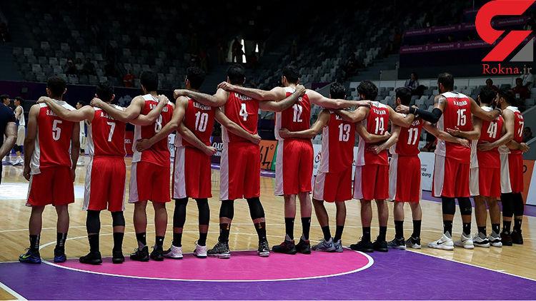 لیست تیم ملی بسکتبال ایران برای رقابتهای ویلیامز جونز اعلام شد