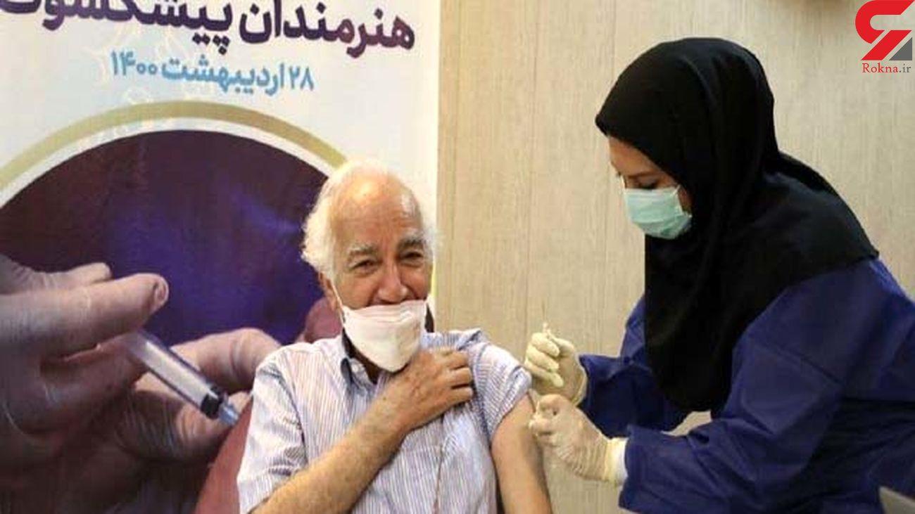 هنرمندان پیشکسوت واکسینه شدند