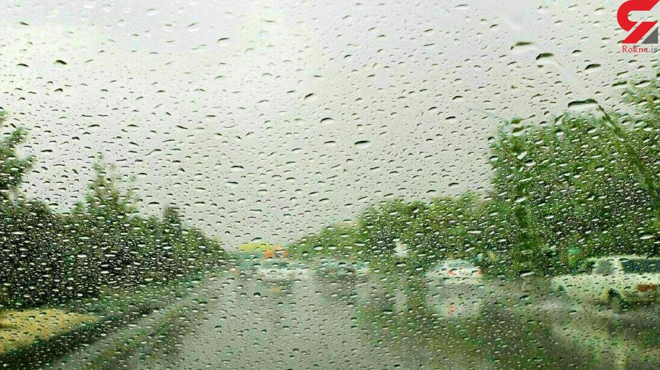 ۲۸ استان کشور تا جمعه بارانی می شود
