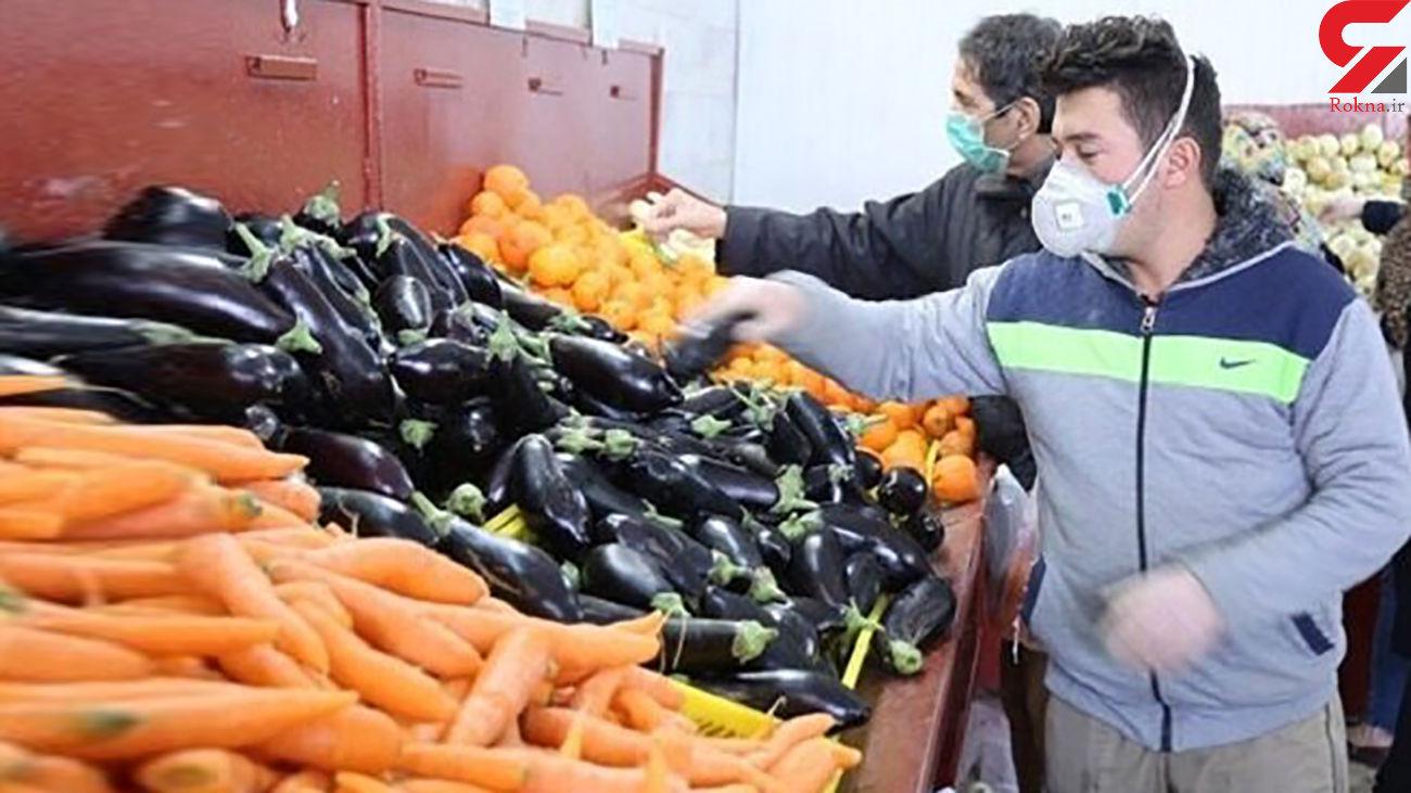 کاهش قیمت بادمجان، طالبی و هندوانه در میادین میوه و تره بار