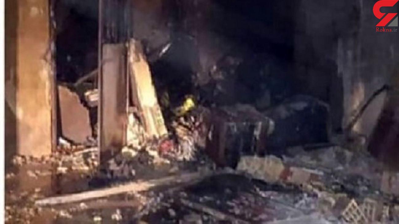 مهار آتش سوزی خانه ای در زاهدان