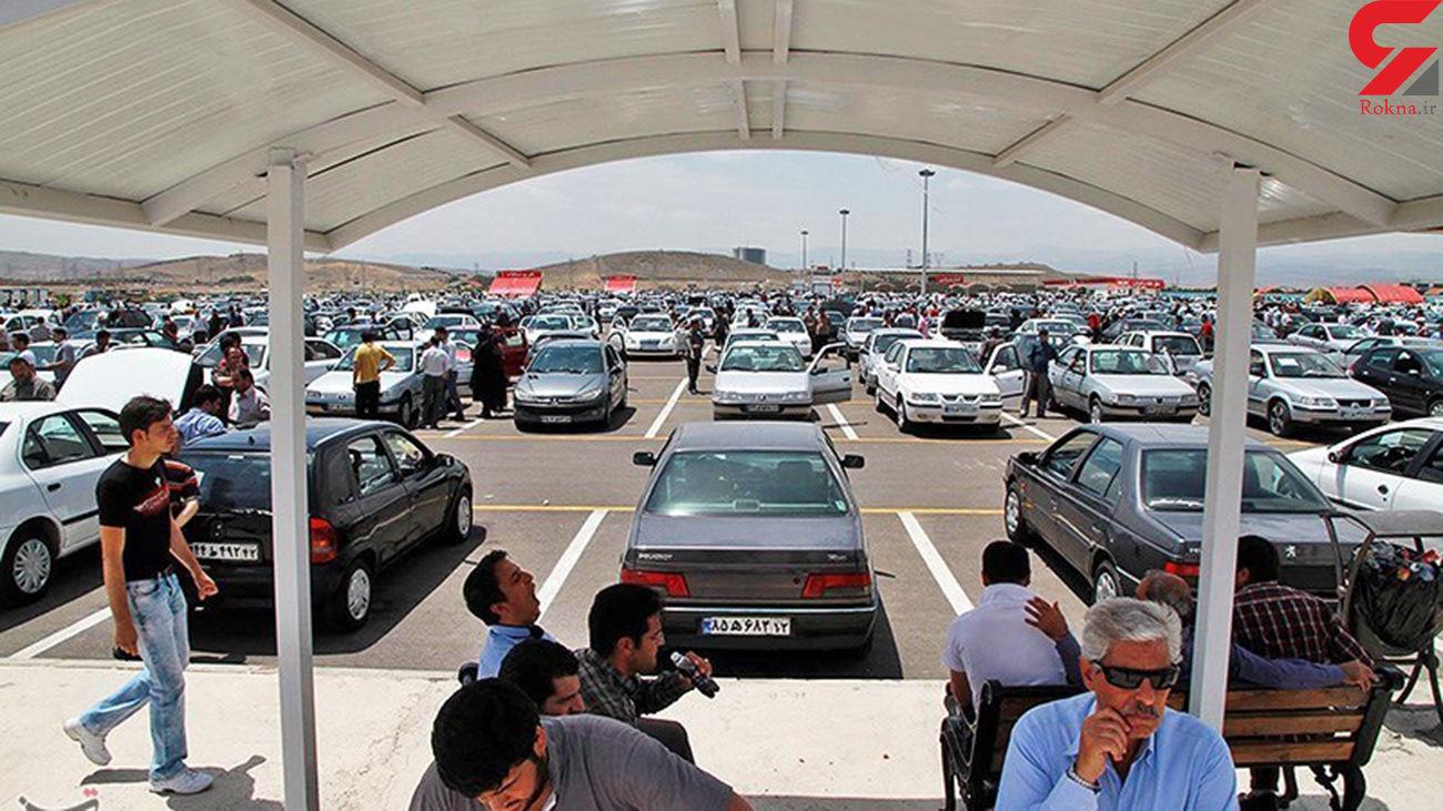 سرکشی بازار خودرو با گرانی دلار / افزایش ۵ تا ۱۵ میلیونی قیمت خودرو در بازار