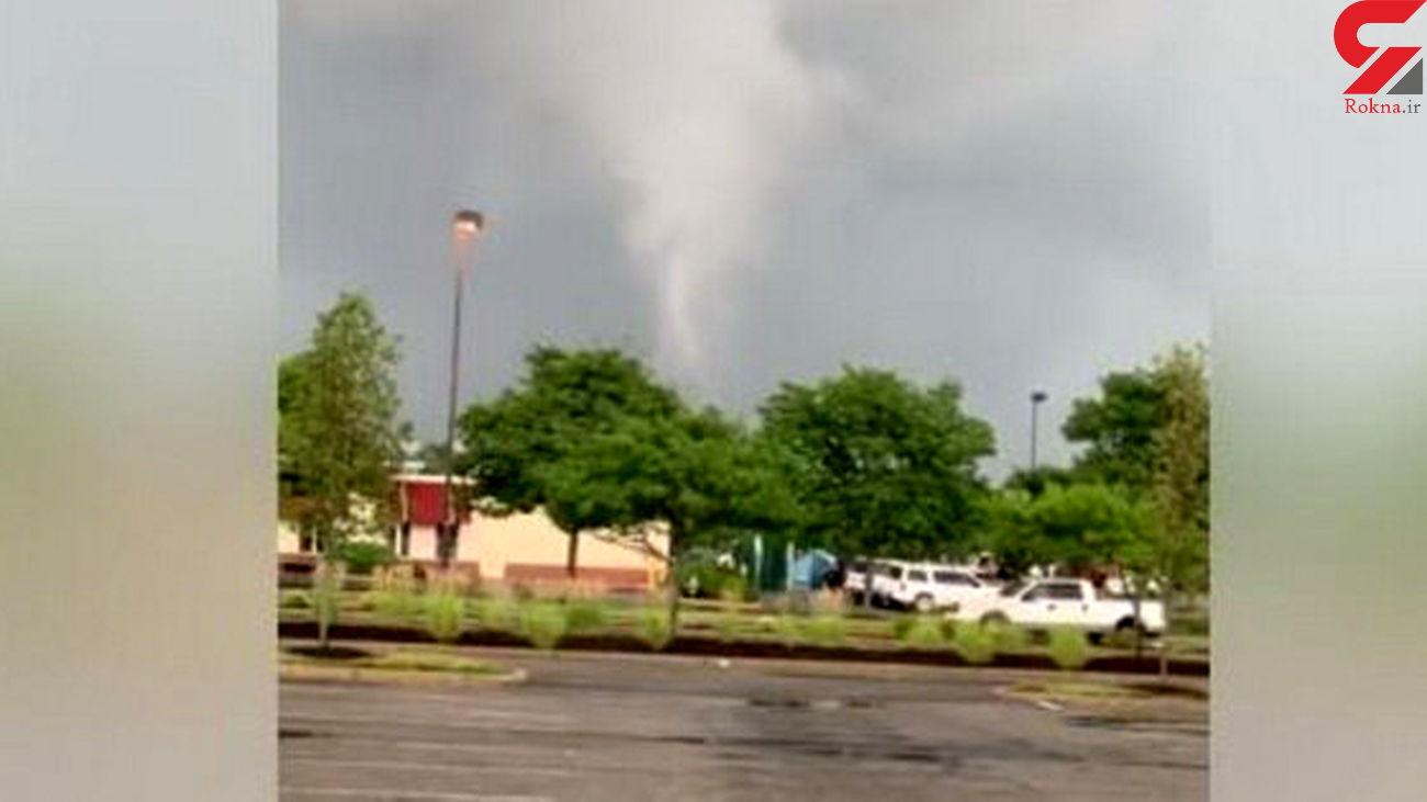 گردباد وحشتناک در نیوجرسی+عکس