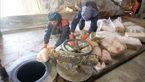 ماجرای 34 تن گوشت آلوده در مشهد / 7 تن در کوره آتش معدوم شد + عکس