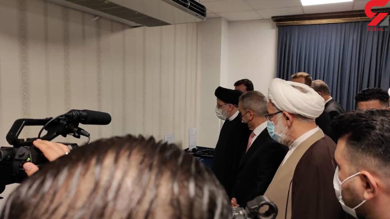 بازدید رئیس قوه قضائیه ایران از ابزار آلات شکنجه  داعشی ها