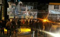 انفجاری مهیب در کارخانه نئوپان گنبد با 4 مصدوم