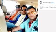 تیپ عجیب و متفاوت سه بازیگر مرد +عکس