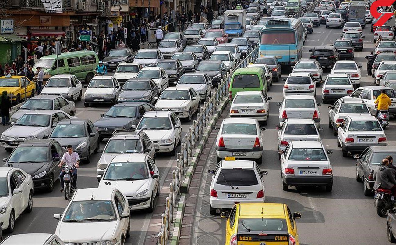 وضعیت ترافیک راه های کشور در شنبه 7 تیر ماه