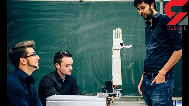 دست روباتیک مترجم ناشنوایان می شود +عکس