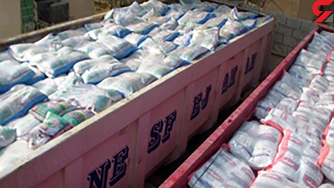 کشف 111 تن برنج خارجی قاچاق در هرمزگان