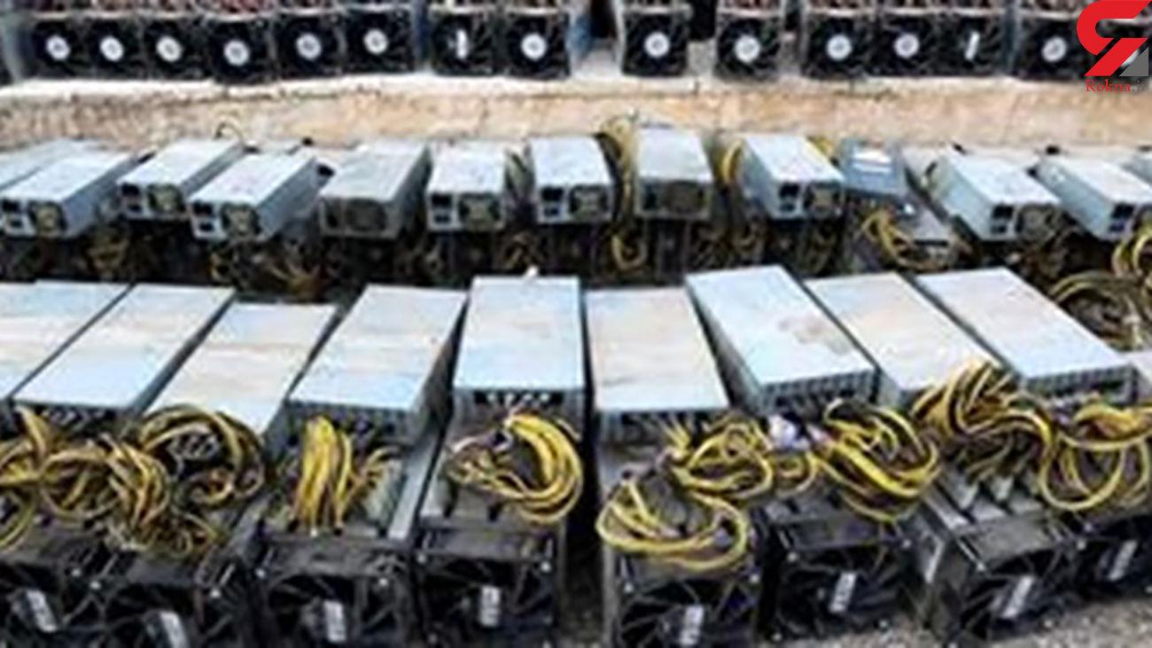 کشف و ضبط ۳۴ دستگاه ماینر غیرمجاز توسط سپاه ناحیه لامرد