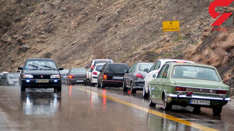 بارش در گیلان / مه گرفتگی در اردبیل /محدودیت تردد در برخی از مسیرها