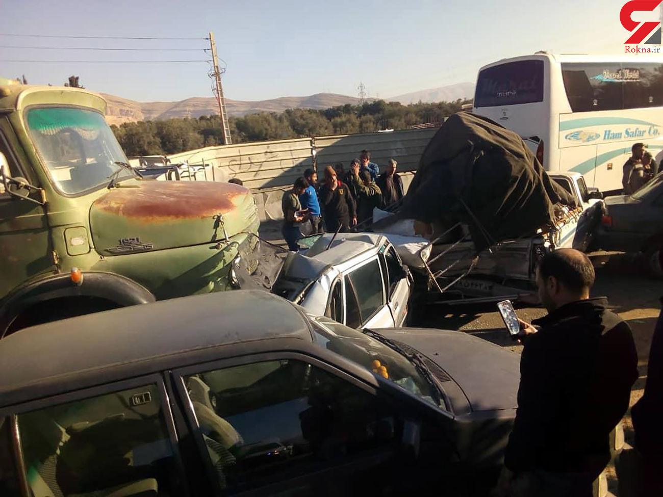 عکس های عجیب از یک فاجعه در شیراز + جزییات
