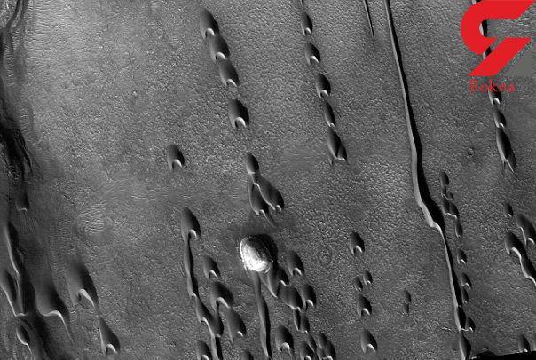 نشانه هایی از حیات در تپه های هلالی مریخ کشف شد