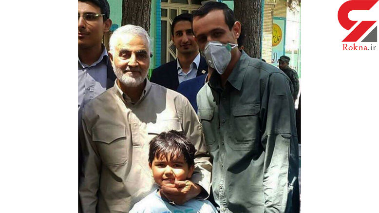 سرلشکر سلیمانی با جانبازان ودافع حرم رای داد+ عکس