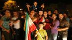 شب شادی ایرانی ها بعد از بازی غرور آفرین تیم ملی با پرتغال + فیلم