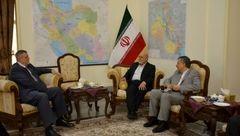 سفیر ایران با نماینده دبیرکل سازمان ملل در عراق رایزنی کرد