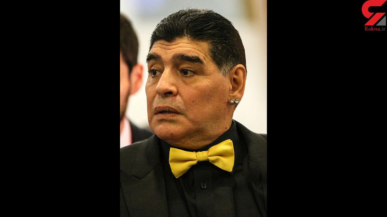 فیلم لحظه انتقال جنازه مارادونا به سردخانه