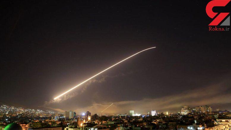 آغاز حمله ائتلاف غربی به سوریه + عکس