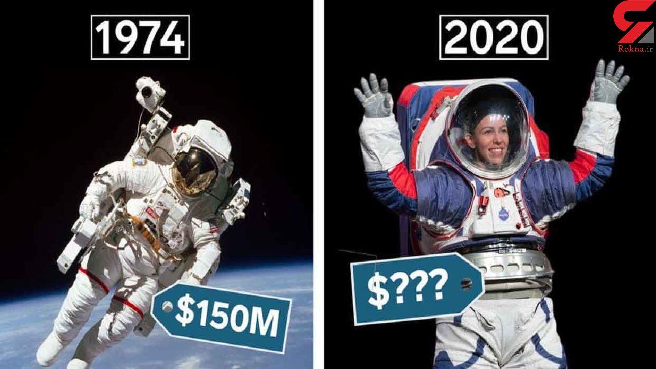 گران ترین بخش لباس های فضایی چیست؟