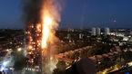 گمشدن 3 ایرانی در آتش سوزی برج گرنفل لندن