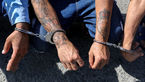 دستبند پلیس بر دستان حفاران غیرمجاز در بوئینزهرا