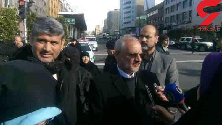 خبر خوش وزیر آموزش و پرورش به معلمان در حاشیه راه پیمایی ۲۲ بهمن