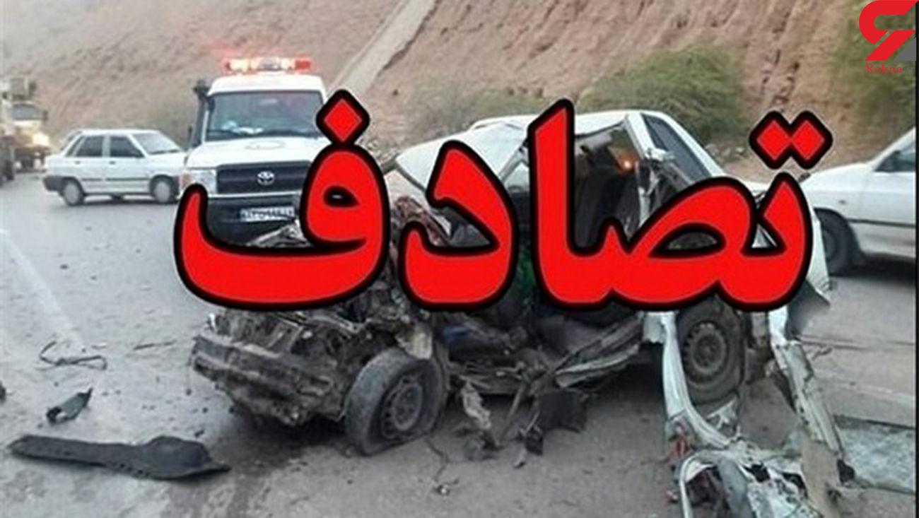 """3 مصدوم و یک کشته در بزرگراه """"یاسینی"""""""